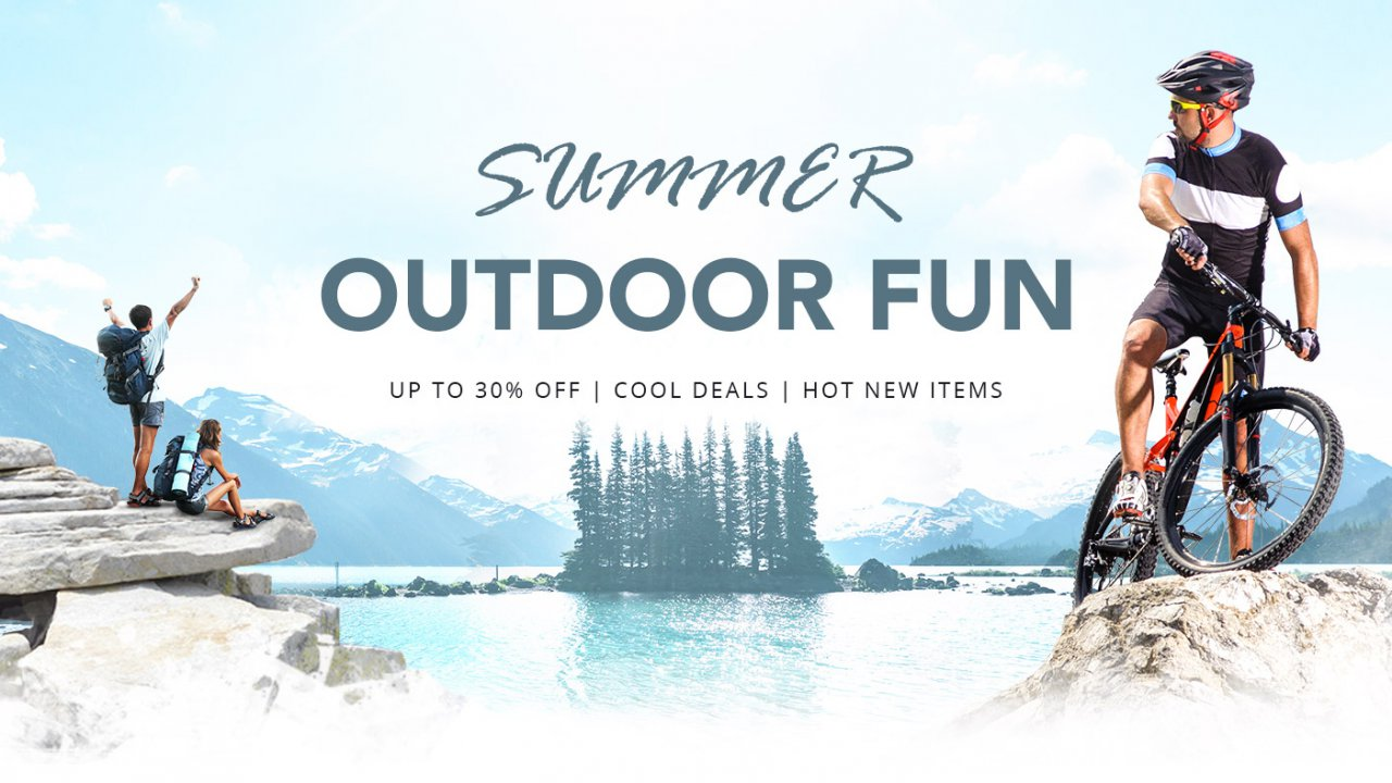The Summer Outdoor Gear Flash Sale Save up to 30% off