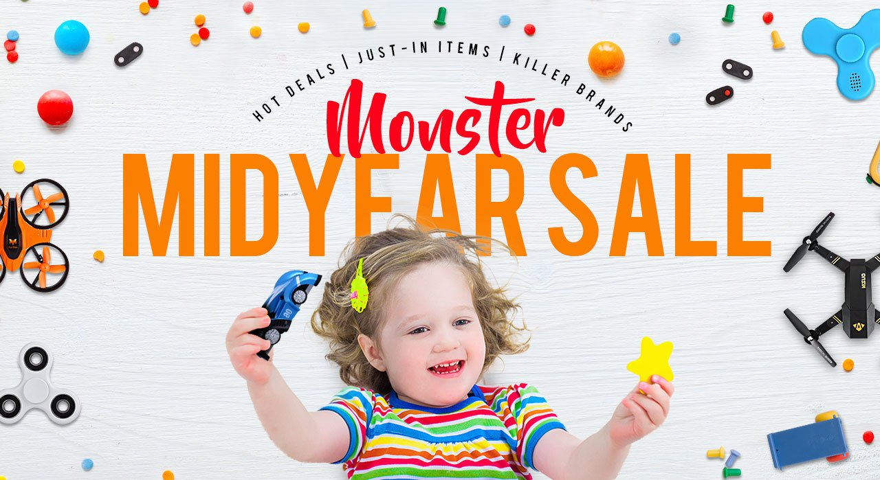 The 2017 Midyear Funny Toys and RC Toys Flash Sale