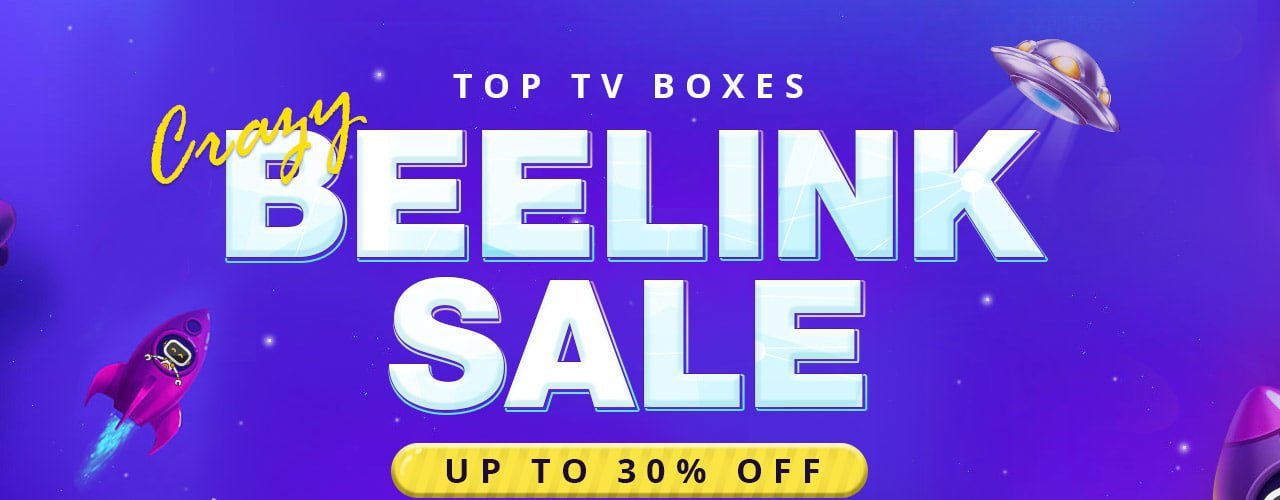 The 2017 Top TV Boxes Beelink Flash Sale Save Up to 30% off