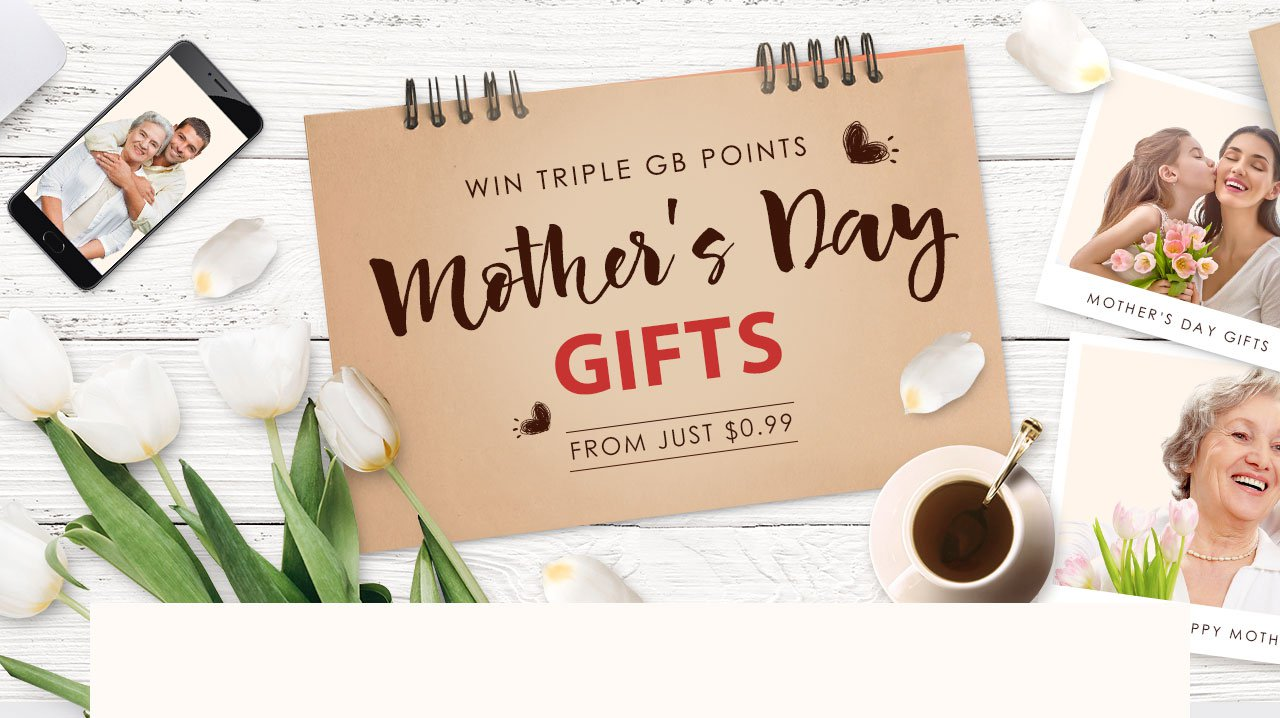 The Mother's Day Gifts Flash Sale from Just $0.99