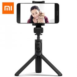 Купить со скидкой Xiaomi Selfie Stick Bluetooth Remote Shutter Tripod Holder