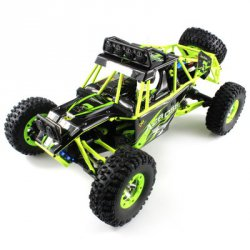 Купить со скидкой WLtoys No. 12428 1 / 12 Scale 2.4GHz 4WD Off Road Vehicle with LED Light