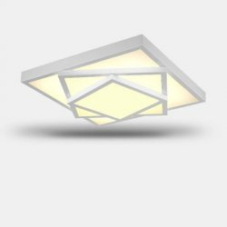 Купить Ever-Flower Square Triple Tier Painted Finish LED Ceiling Light по акционной цене