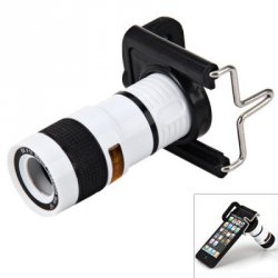 Купить дешево Portable 8x18 Universal Mobile Phone Monocular Telescope со скидкой