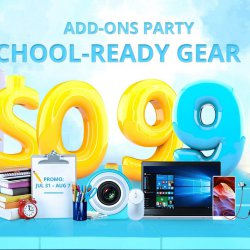 2017 Best Top Back to School Gear Flash Sale from Just $0.99