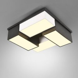Купить 220V Stylish Modern Simple Square LED Ceiling Lamp с хорошей скидкой