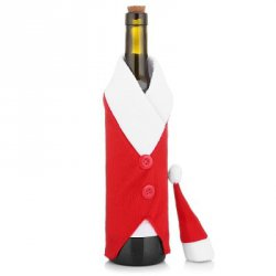 Купить дешево Yeduo Christmas Red Wine Bottle Bag Cover Bags Dinner Table Home Decoration со скидкой