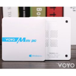 Купить со скидкой VOYO Smart Mini PC Intel Baytrail T Z3735 Windows 8.1 Android 4.4 4K Quad Core 2GB RAM 64GB ROM for WiFi Bluetooth AC 100 - 240V