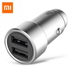 Купить Original Xiaomi Fast Charging Car Charger Metal Style с хорошей скидкой