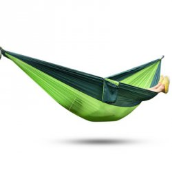 Акция на товар 2 Person Assorted Color Parachute Nylon Fabric Hammock