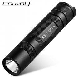 Купить Convoy S2+ 365nm Nichia UV Waterproof LED Flashlight по акционной цене