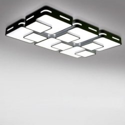 Купить дешево 32W 3000LM LED Simple Rectangle Shape Ceiling Light 220V со скидкой