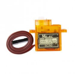Купить со скидкой MR.RC SG90 Mini Gear Micro Servo 9g For RC Airplane Aircraft Helicopter