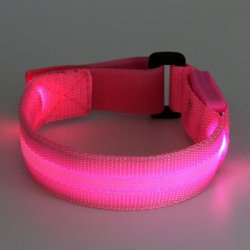 Купить Novelty LED Flash Wrist Strip Luminous Bangle с хорошей скидкой