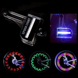 Купить дешево LEADBIKE A02 14 LED Bicycle Spoke Light with 30 Patterns со скидкой