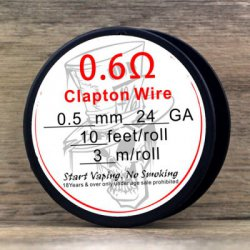 Купить Original Advken 0.5mm Clapton Wire Ferrochrome A1 Resistance Wire с хорошей скидкой
