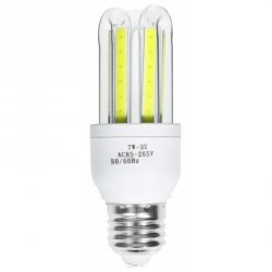 Акция на товар E27 7W 560LM COB U-shaped LED Bulb