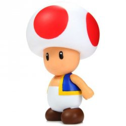 Купить дешево 10cm Mini Super Mario Brothers Action Figure Mushroom Boy Doll Toy со скидкой