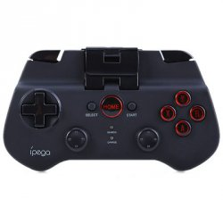 Акция на товар IPEGA PG-9017S Wireless Bluetooth 3.0 Gamepad Game Controller with Stand