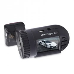 Купить MINI 0805 1.5 inch 1296P HD LCD Screen GPS Car DVR Camcorder по акционной цене