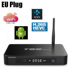 Купить дешево Sunvell T95 Max TV Android Box Quad Core Amlogic S905 со скидкой