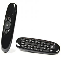 Купить недорого Flymote C120 2.4GHz Wireless Air Mouse with QWERTY Keyboard / Remote Control Function for Android Windows Linux Mac