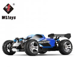 Купить WLtoys A959 1 / 18 Scale 2.4G RC OFF - Road Racing Car with Anti - vibration System - US Plug с хорошей скидкой