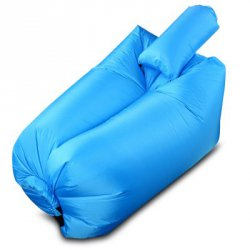 Акция на товар Ultralight Inflatable Lazy Sofa with Pillow Beach Chair for Leisure Activities