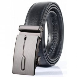 Купить недорого Stylish Polished Geometric Automatic Buckle Wide Belt