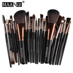Купить MAANGE 22pcs Foundation Blush Eyebrow Lip Makeup Brushes по акционной цене