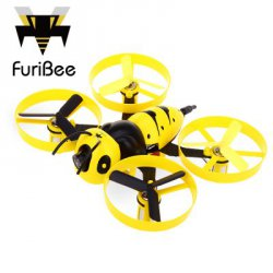 Купить недорого FuriBee F90 90mm Wasp Mini FPV Racing Drone - BNF
