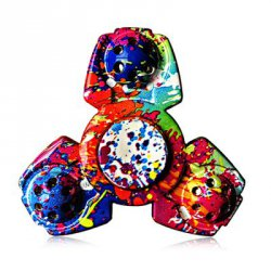 Купить со скидкой Colorful Triangular ADHD Adult Fidget Spinner