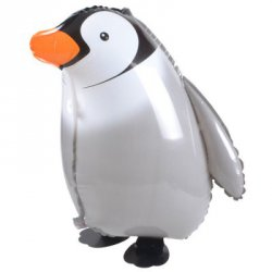 Купить Penguin Inflating Foil Balloon Auto-Seal Party Birthday Decor Toy for Kid / Adult с хорошей скидкой