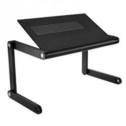 Акция на товар OMAX K6 Portable Laptop Desk Folding Table Vented Stand