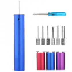 Купить недорого DIY 6 - in - 1 CW Coil Winder Kit RBA Coil Jig Coiling Tool for Electronic Cigarette