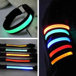 Купить недорого 3 Mode 1 LED Safety Reflective Armband for Night Cycling