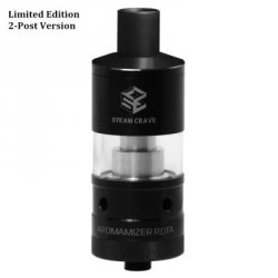 Купить Original Steam Crave Aromamizer RDTA Limited Edition Atomizer Dual Posts Version с хорошей скидкой