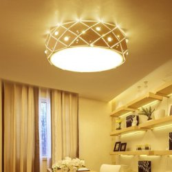 Купить недорого Ever - Flower Modern Simple LED Ceiling Light Mount with White Color Painted Finish