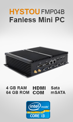 HYSTOU FMP04B Fanless Mini PC
