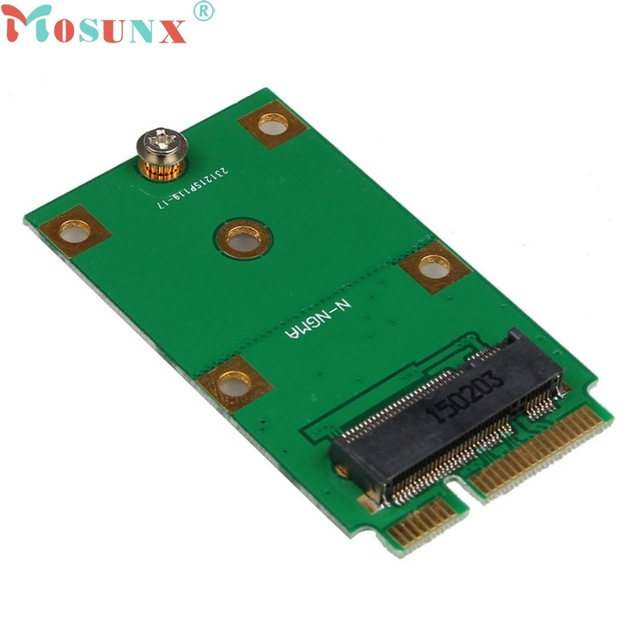 Mosunx mecall mini pci-e 2 lane m.2 ngff 30 мм 42 мм msata ssd для 52pin адаптер карты