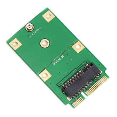 M.2 NGFF SSD to mSATA Converter Adapter Card
