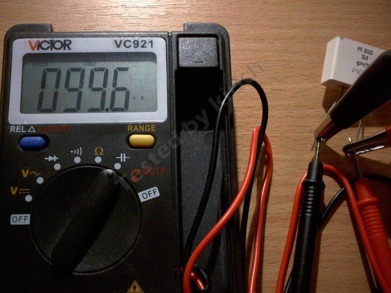 Компактный и весьма неплохой мультиметр VC921