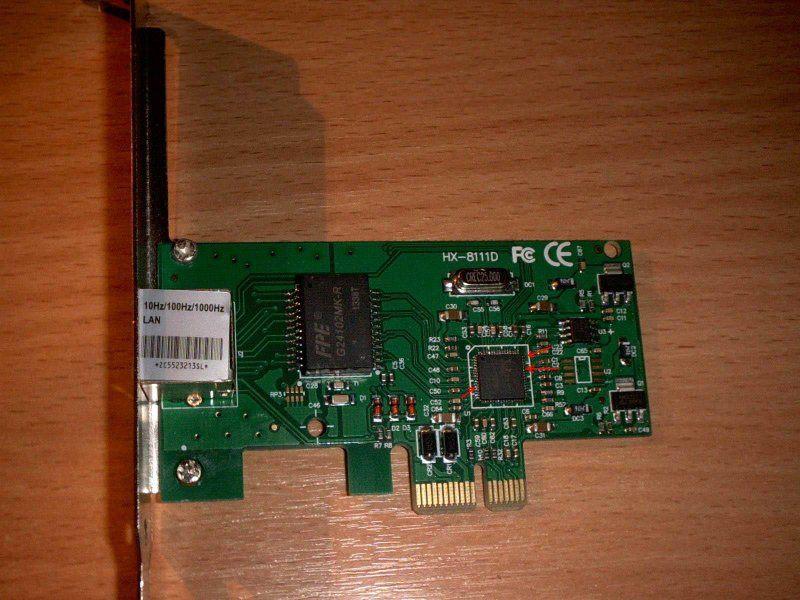 Gigabit Ethernet сетевой адаптер PCI Express