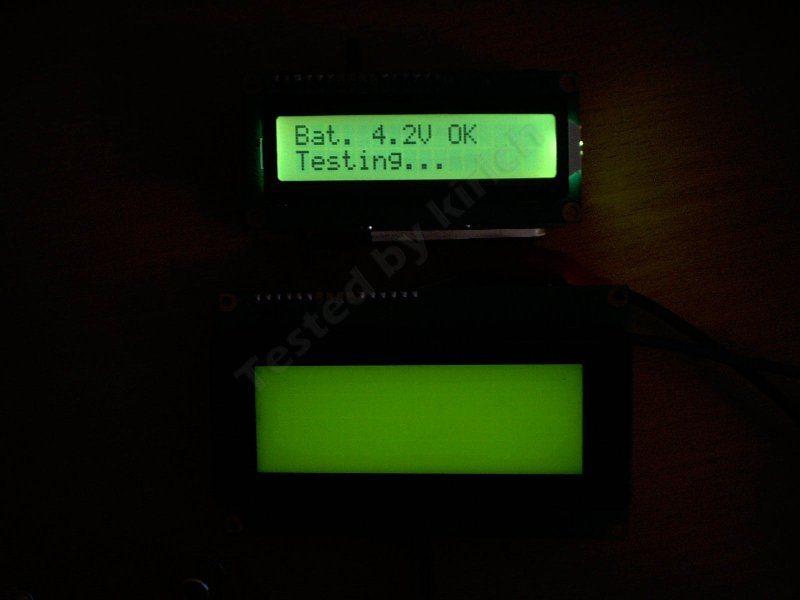 Дисплей 2004 или когда 1602 уже мало.