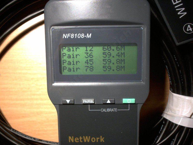 Кабельный тестер NF8108, хорошая вещь, но с неприятным подвохом.