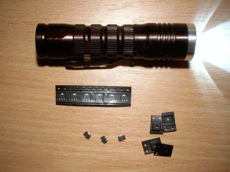 AMC7135 или реанимация печально известного фонарика.