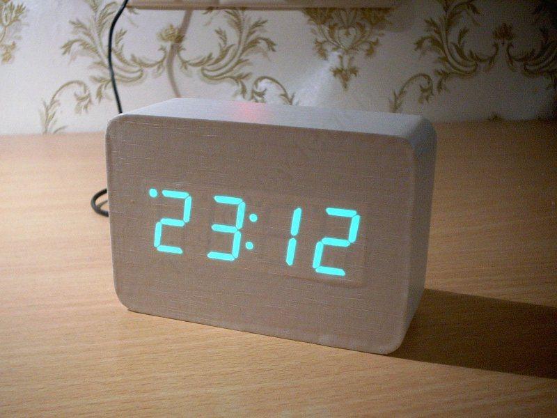 Часы, которые не тикают.