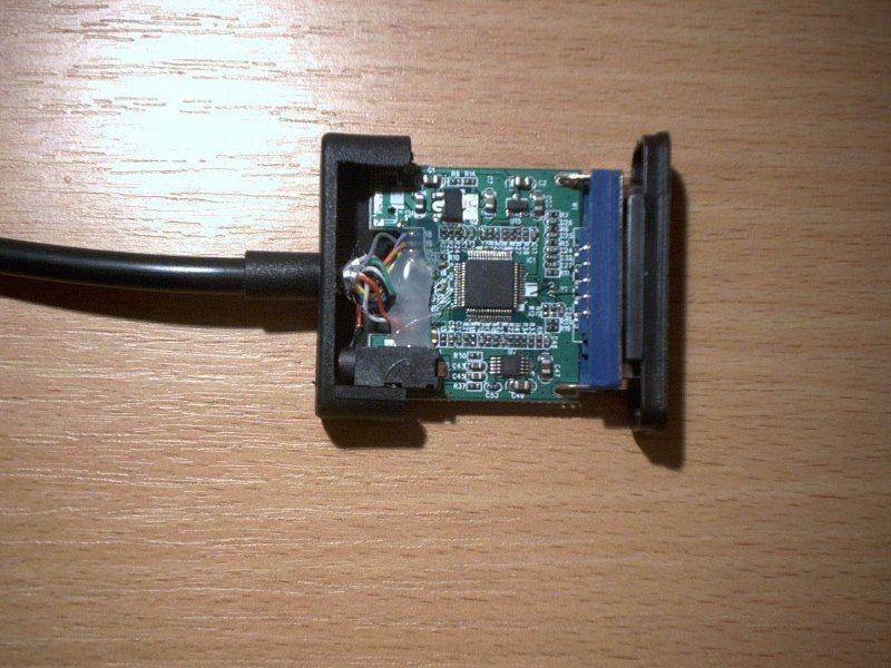 Конвертер HDMI-VGA.