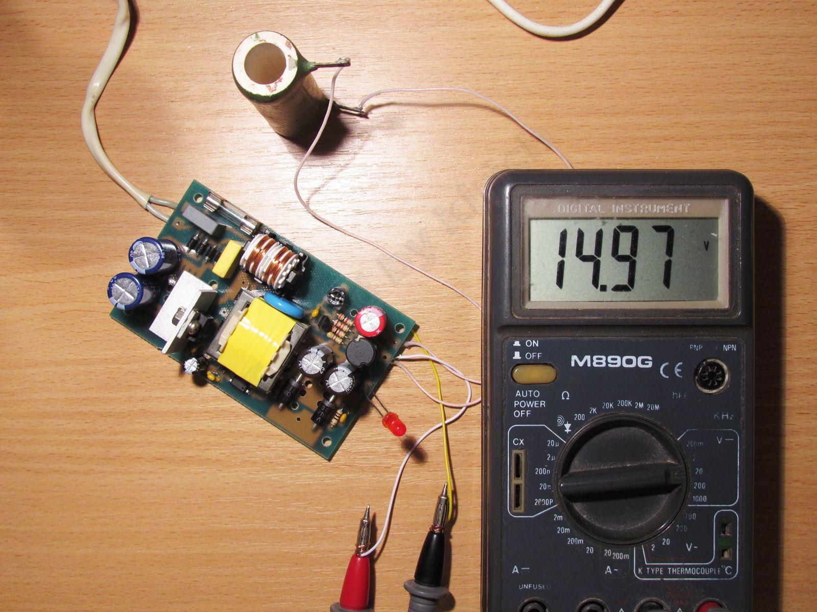 Как сделать блок питания на 12 вольт для автомагнитолы своими руками