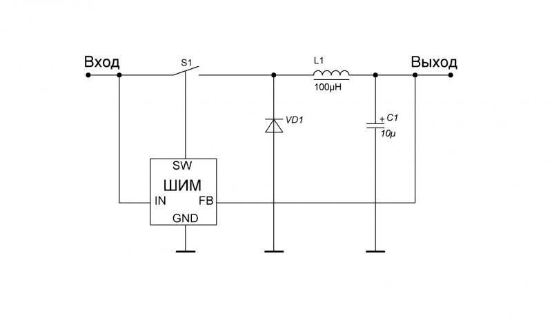 MC34063 Один из самых распространенных ШИМ (ЧИМ) контроллеров и небольшой экскурс в принципы работы DC-DC конвертеров.